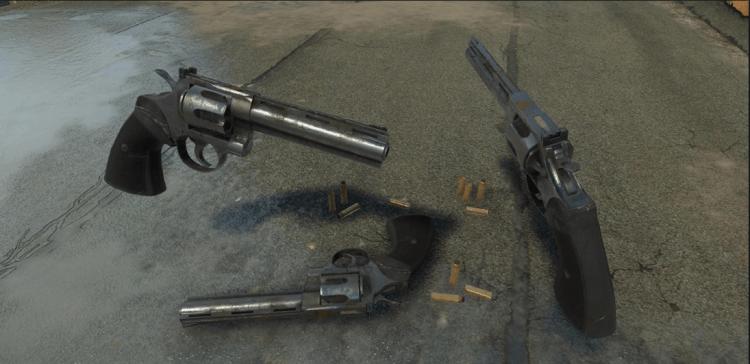 Miscreated .357 Revolver