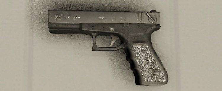 Miscreated 9mm Pistol Handgun