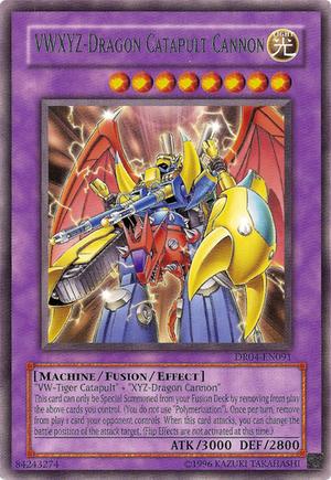 VWXYZ Dragon Catapult Cannon