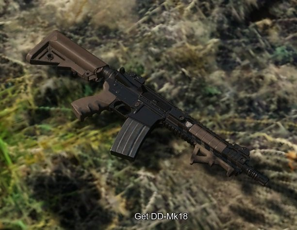Miscreated DDMK18 Assault Rifle