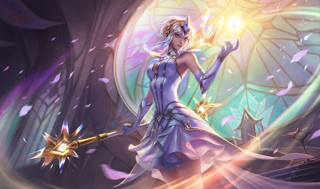 Elementalist Lux, one of the best League of Legends skins