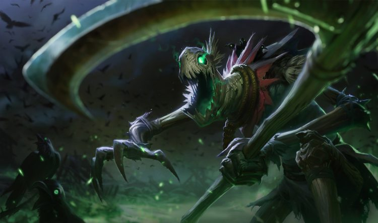 Fiddlesticks, one of the highest winrate champions in League of Legends