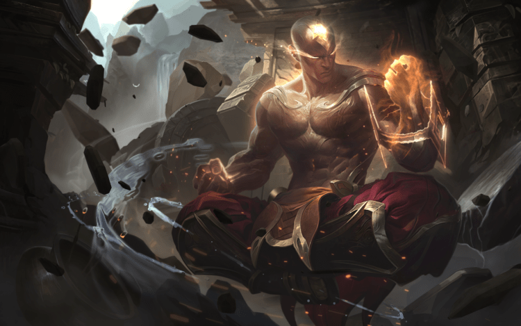 God Fist Lee Sin, one of the best League of Legends skins