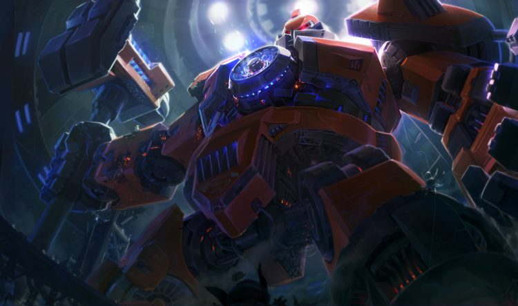 Mecha Zero Sion, one of the best League of Legends skins