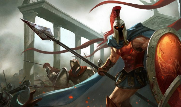 Pantheon, one of the highest winrate champions in League of Legends