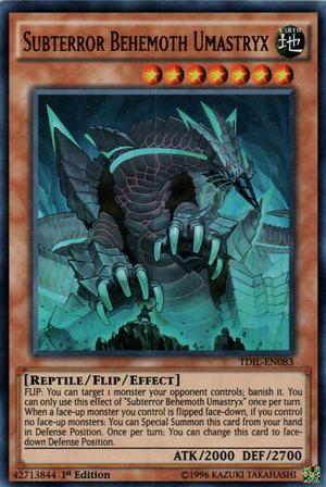 Subterror Behemoth Umastryx
