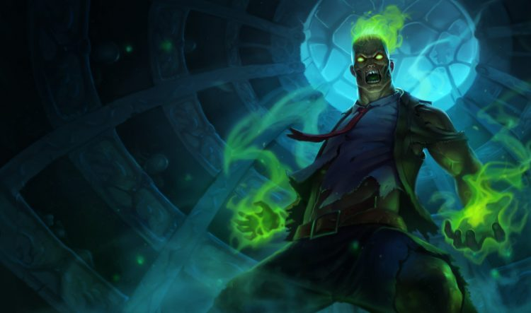 Zombie Brand, one of the best League of Legends skins