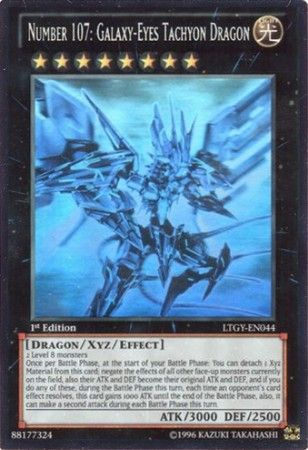 Yugioh Number 107: Galaxy Eyes Tachyon Dragon