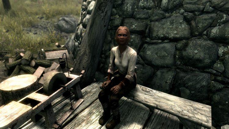 Annekke Crag-Jumper, one of the best followers in Skyrim