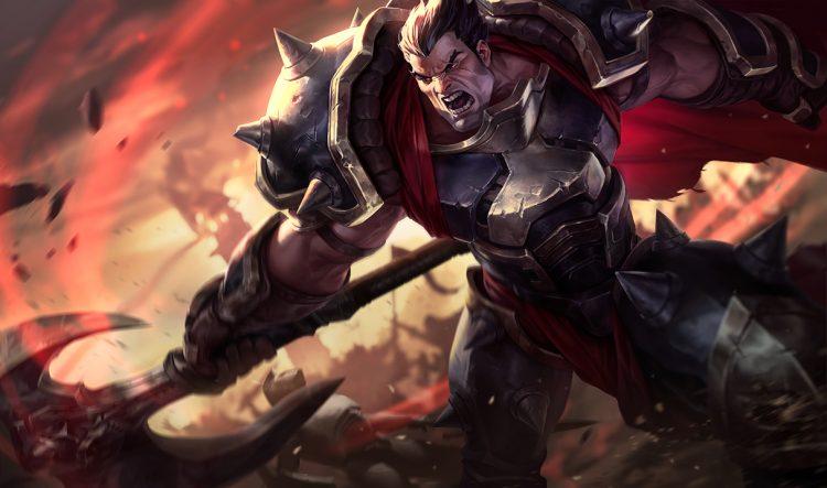 Darius League of Legends Splash Art