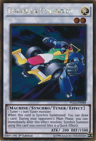 Formula Synchron Yugioh Machine monster