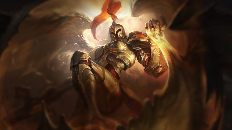 Kayle, one of the least played champions in League of Legends