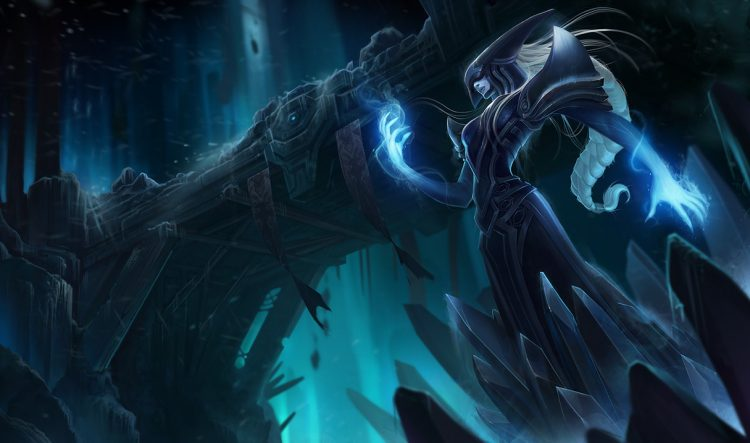 Lissandra, one of the least played champions in League of Legends