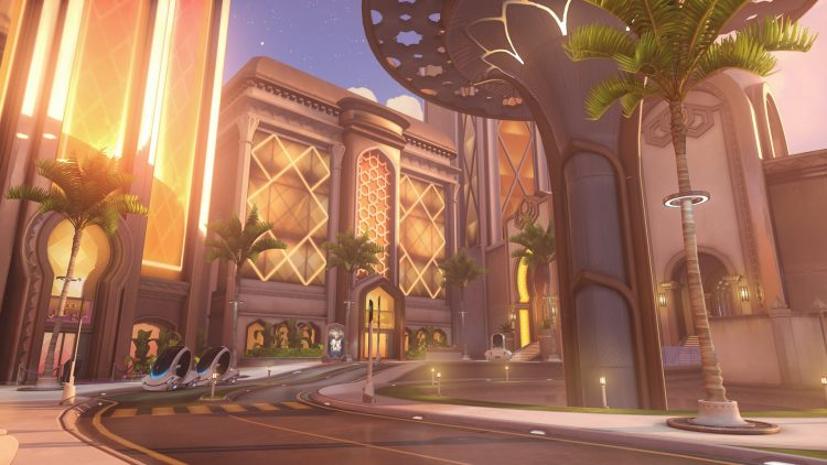 Oasis new Overwatch map