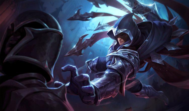 Talon League of Legends Splash Art