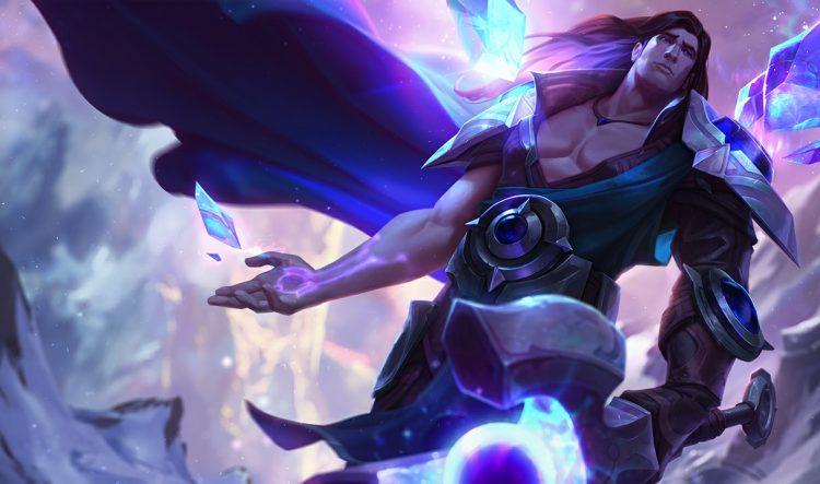 Taric League of Legends Splash Art
