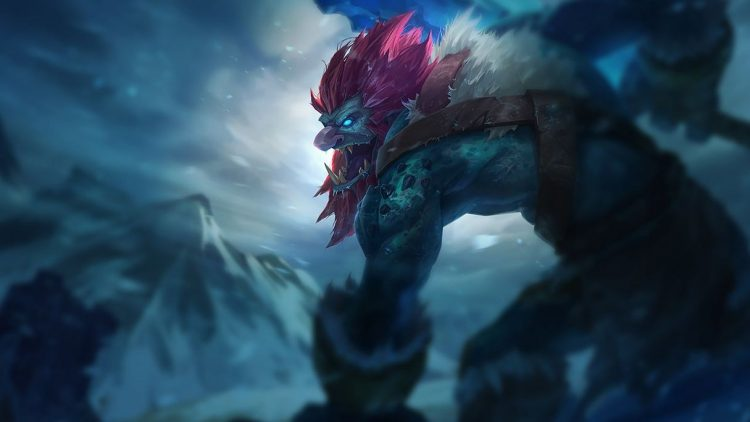 Trundle, one of the least played champions in League of Legends
