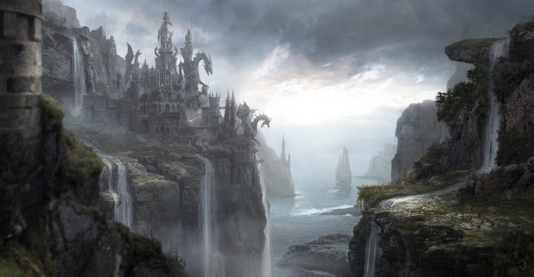 Depiction of Dragonstone