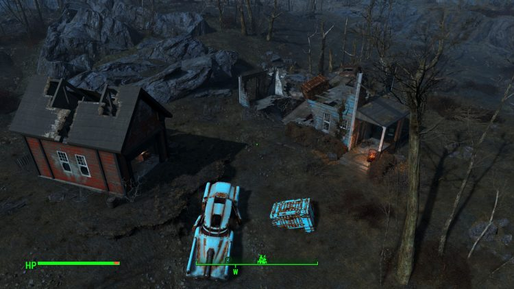 Coastal Cottage in Fallout 4, one of the biggest settlements
