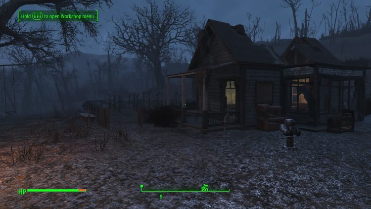 Somerville Place in Fallout 4, one of the biggest settlements