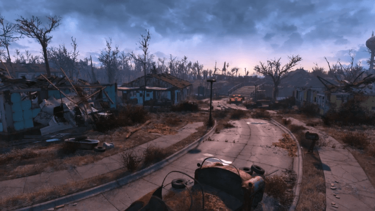 Sanctuary in Fallout 4, one of the biggest settlements