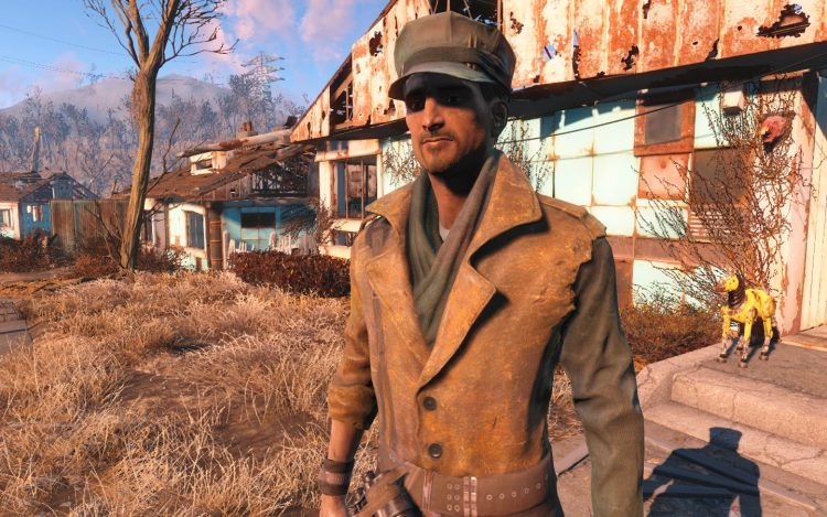 MacCready, one of the best companions in Fallout 4