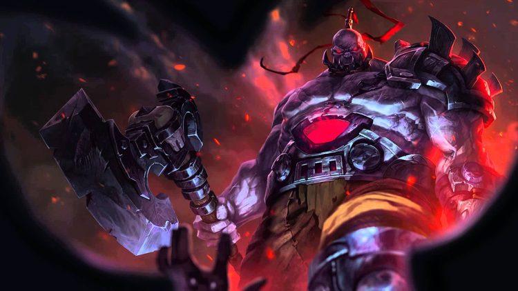 Sion League of Legends Splash Art