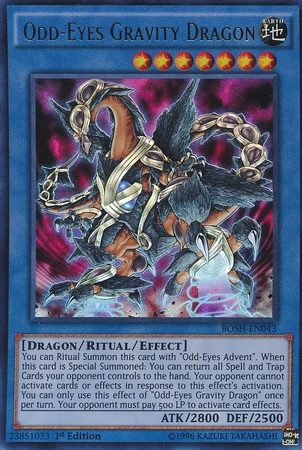 Odd-Eyes Gravity Dragon