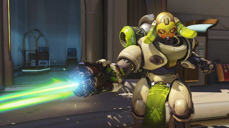 The new hero, Orisa