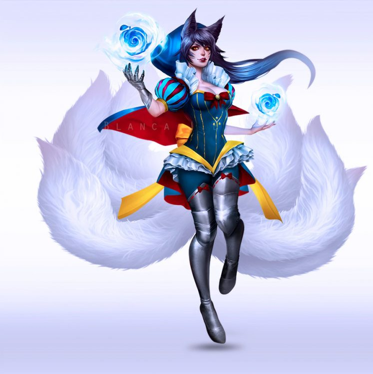 Top 10 Ahri Facts Qtoptens