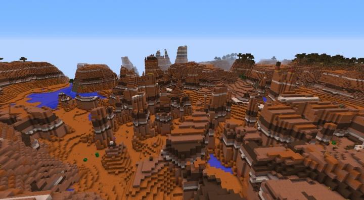 The Mesa Minecraft Biome