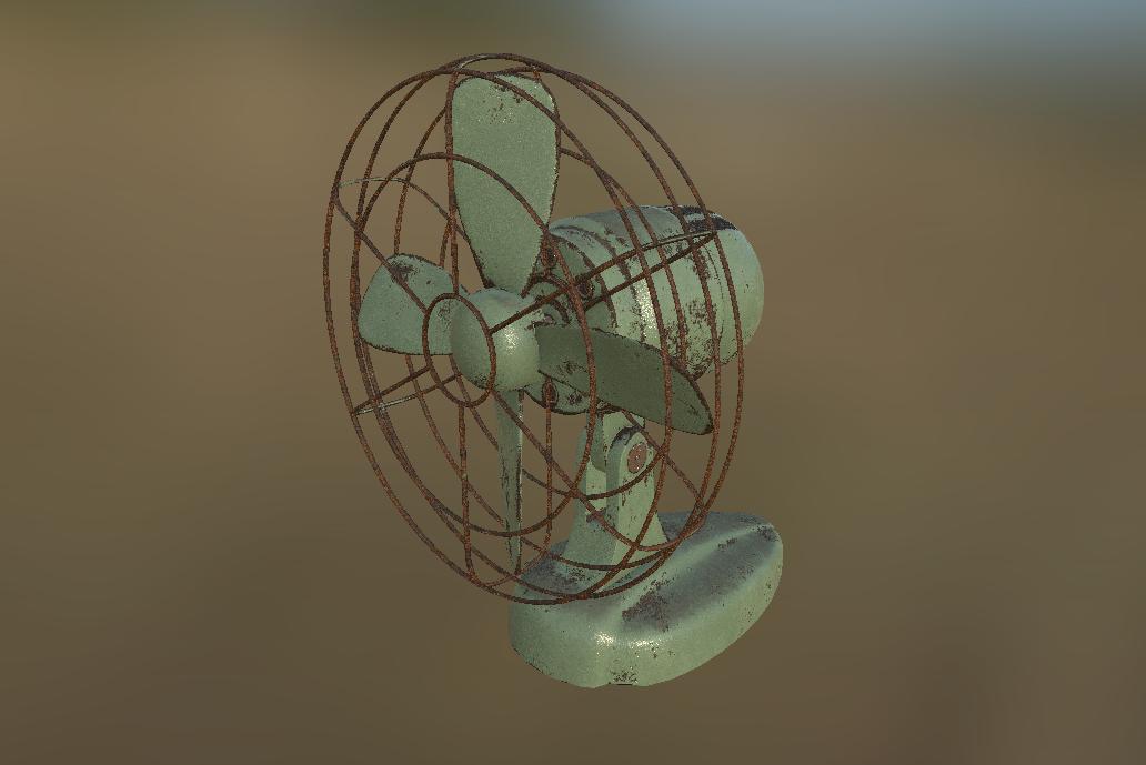 Desk Fan item in Fallout 4, useful junk