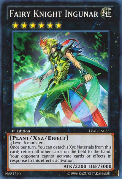 Fairy Knight Ingunar, Yugioh Plant type monster