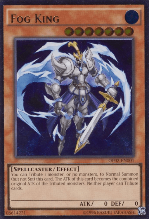 Fog King, Yugioh Spellcaster Type Monster