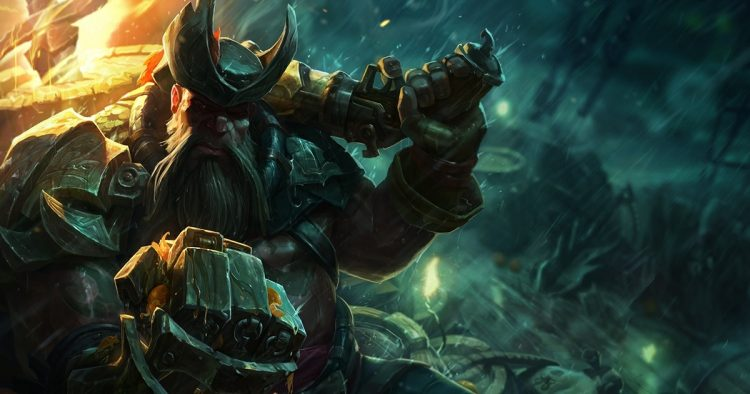 Gangplank splash art