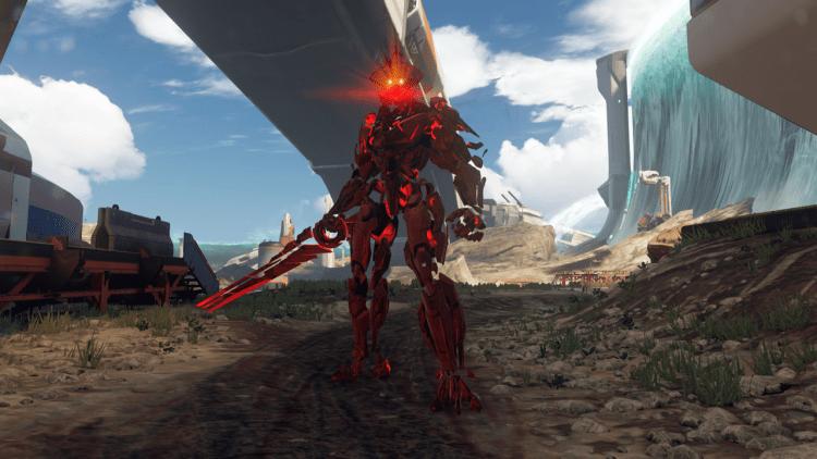 Warden Eternal, Halo 5 Warzone Boss