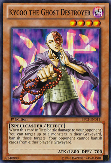 Kycoo the Ghost Destroyer, Yugioh Spellcaster Type Monster