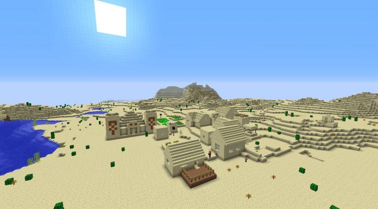The Desert Minecraft Biome