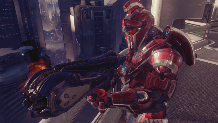 Achilles, a Helmet in Halo 5 Guardians