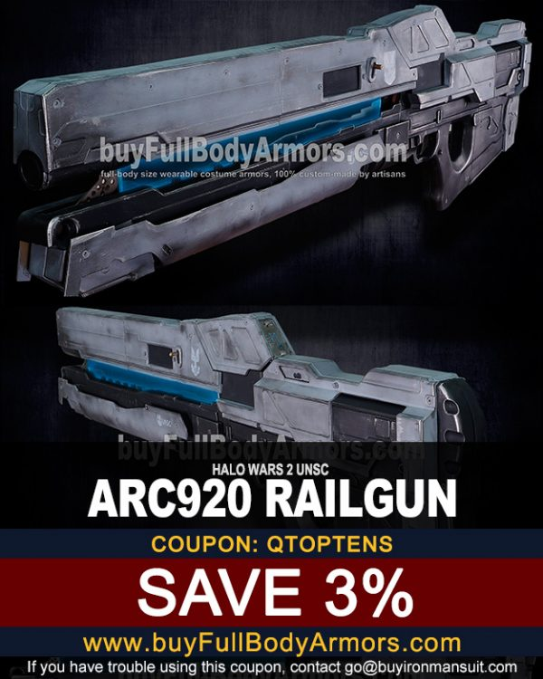 Railgun Coupon for buyfullbodyarmor.com