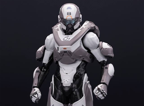Athlon Icus, one of the best armor in Halo 5