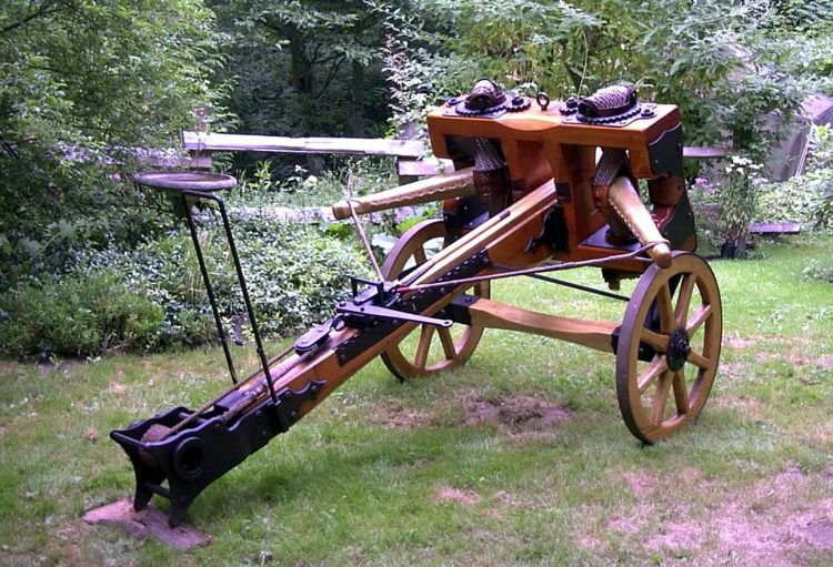 Ballista, an early siege weapon