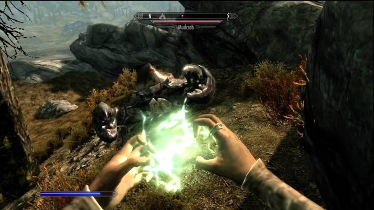 Calm, a Skyrim Illusion Spell