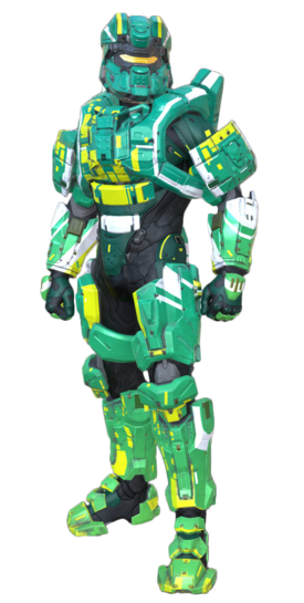 Commando Verde, one of the best armor in Halo 5