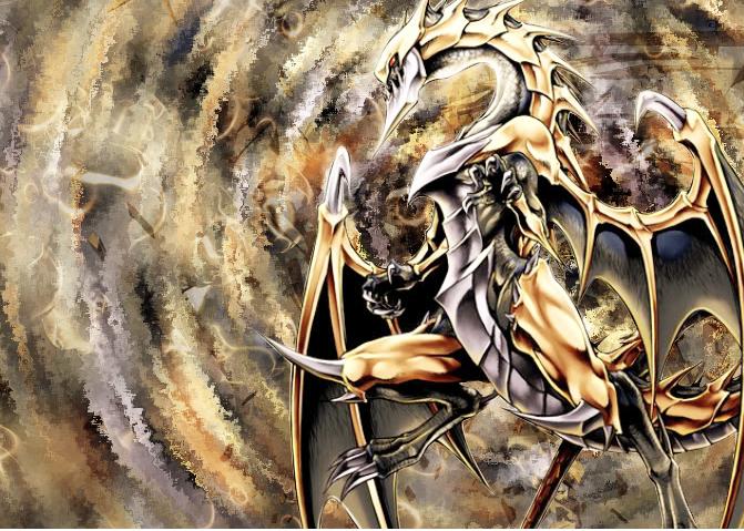 Yugioh Felgrand art, Dragon monster