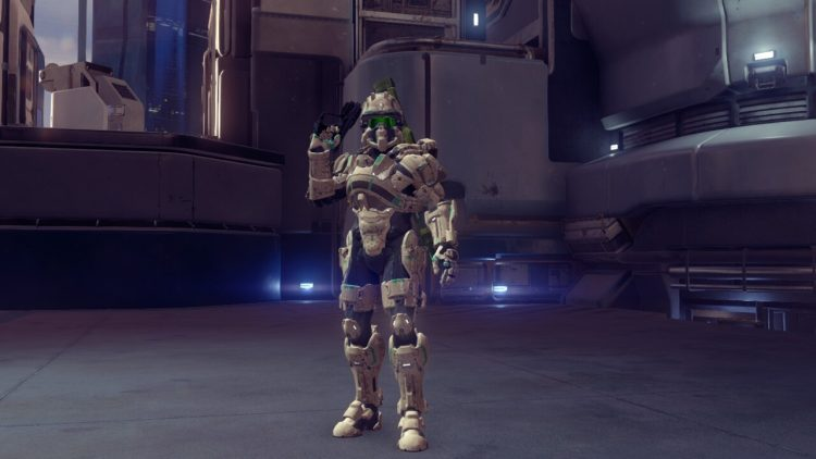 Foehammer, one of the best armor in Halo 5