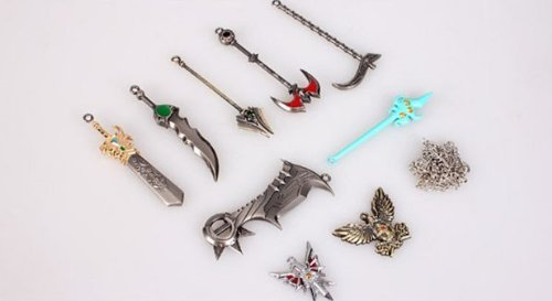 League of Legends keyblade set