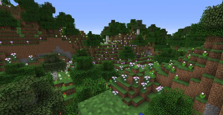 The Flower Forest Minecraft Biome