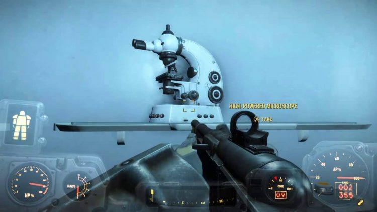 High-Powered Microscope item in Fallout 4, useful junk