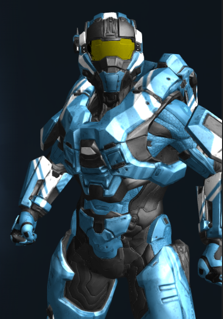 Noble Valor, a Helmet in Halo 5 Guardians